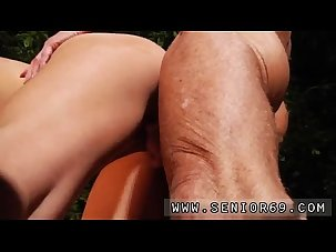 Old guy creampie and old mature..