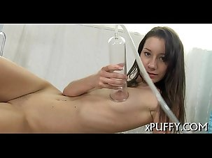 Wet pussy with vibrator playing