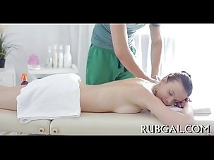 Naked beauty massage