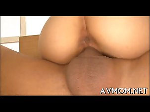 Hung tit milf rides one-eyed..