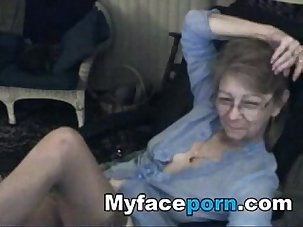 Lovely granny with glasses 3 -..